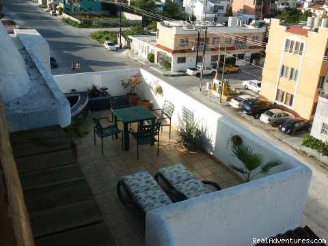 Upper balcony with oceanviews! - Cozumel Condo Vacation Rental Costa Azul