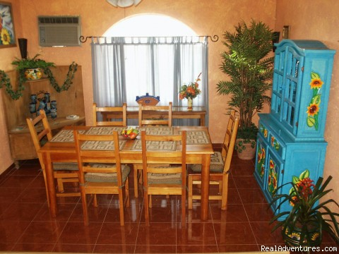 Dining room with mexican decor! - Cozumel Condo Vacation Rental Costa Azul