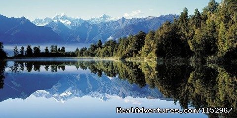 Mountains and lakes on the West Coast NZ - West Coast Travel & Accommodation Bookings