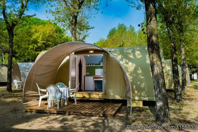 Camping Ca'Savio - Coco Sweet tent - Mobile Homes, Bungalows, Chalets available