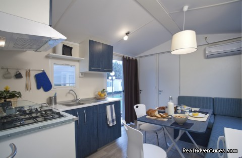 Camping Ca'Savio - Mobilehome Ischia - Mobile Homes, Bungalows, Chalets available