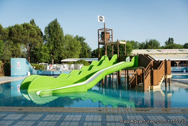 Camping Ca'Savio - Swimming pool - Mobile Homes, Bungalows, Chalets available