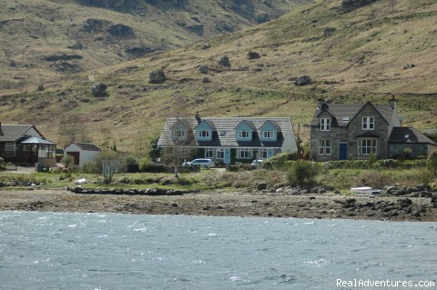 rowan house from loch goil - Lochside Accomodation In A Rural Location