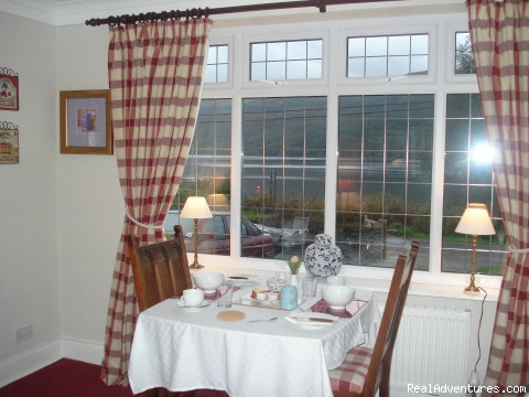 breakfast room  - Lochside Accomodation In A Rural Location