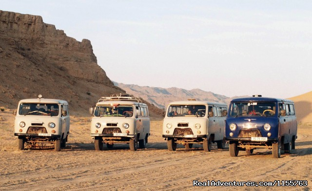 Russian minivan (#14 of 25) - Discover Gobi desert with Idre's tour in Mongolia.