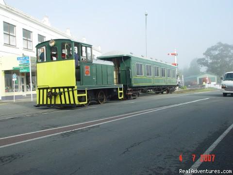 Kawakawa Train Staion - Bay of Islands Station Masters Flat Kawakawa