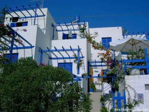 Villa  Galini  , Vacations in Naoussa/Paros/Gr.