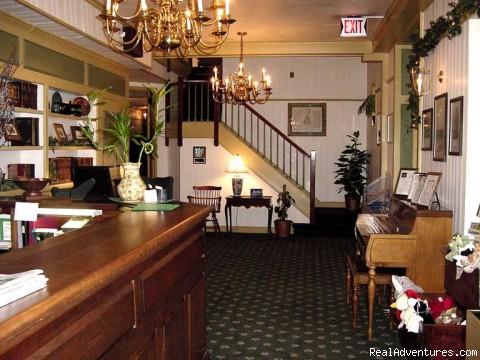 Hotel Lobby - New England Seacoast Getaway