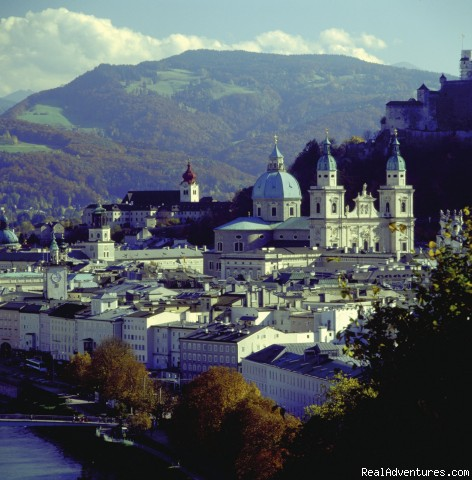 Cycling, walking, city Salzburg - Cycling and walking holidays in Europe