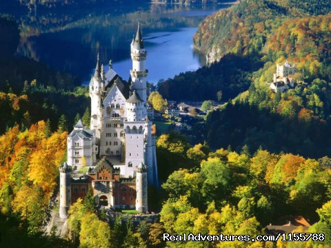 Famous Bavarian Castle - Cycling and walking holidays in Europe