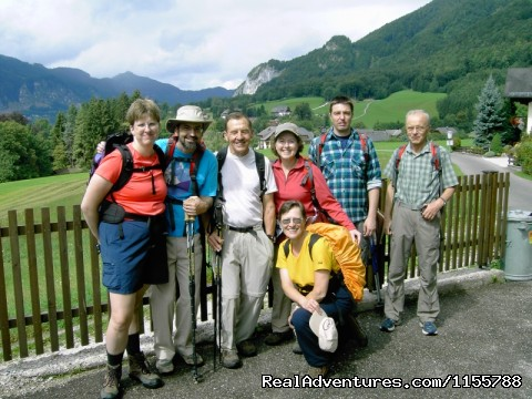 Guided Walking Tour in the Sound of Music District - Cycling and walking holidays in Europe