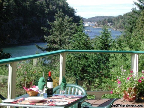 B. C. Gulf Island Tranquility at Saturna Lodge Saturna Island, British Columbia  Hotels & Resorts