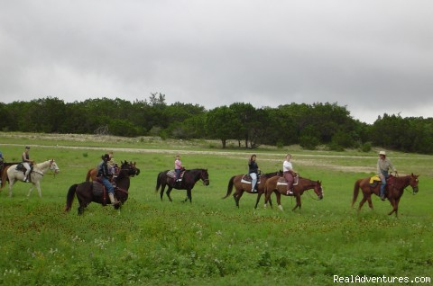 Scenic trail rides - The real Western cowboy experience!