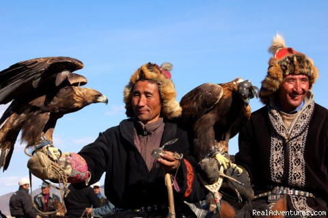 Mongolia. Hunters with golden eagles - Tours to Asia