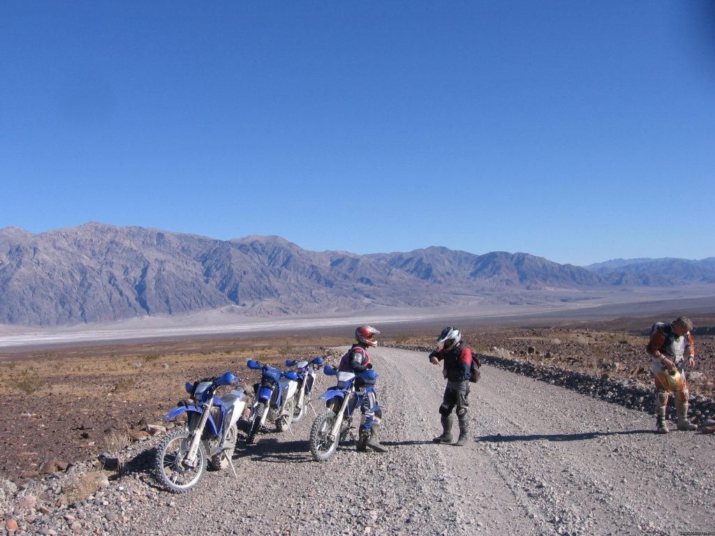 Death Valley, Ca. | Image #17/22 | MotoVentures Dirt Bike Training, Rides and Trials
