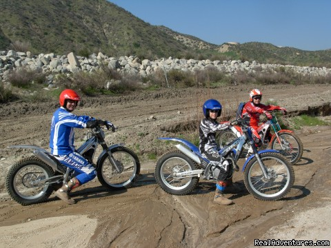 Trials Bike Training, Rider Training Center, Ca. - MotoVentures Dirt Bike Training, Rides and Trials