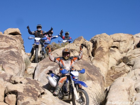 Johnson Valley - MotoVentures Dirt Bike Training, Rides and Trials