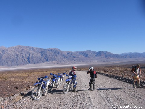 Death Valley, Ca. (#17 of 26) - MotoVentures Dirt Bike Training, Rides and Trials