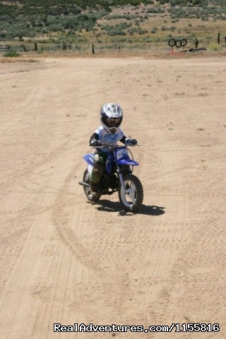 3 year old student, Rider Training Center, Ca. (#20 of 26) - MotoVentures Dirt Bike Training, Rides and Trials