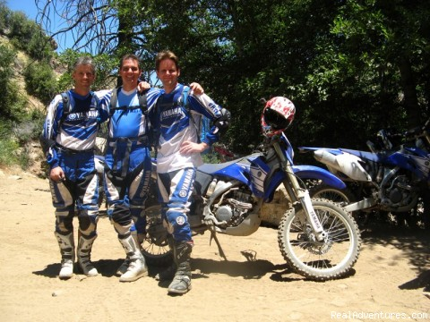 Big Bear, Ca. - MotoVentures Dirt Bike Training, Rides and Trials