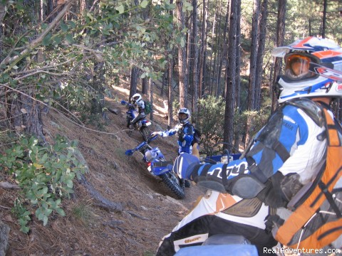 Arizona - MotoVentures Dirt Bike Training, Rides and Trials