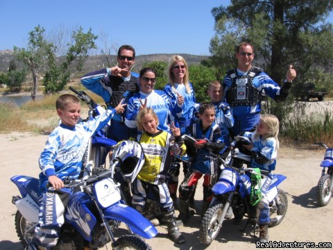 Dirt Bike Training, Rider Training Center, Ca. - MotoVentures Dirt Bike Training, Rides and Trials