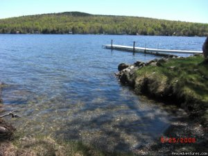 Rangeley Lake, Private Waterfront Cottage Vacation Rentals Rangeley Maine, Maine
