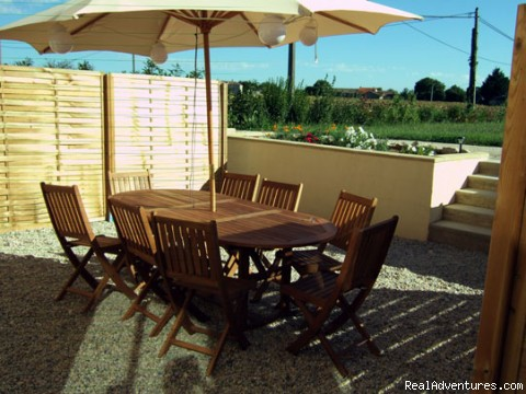 Terrace - Le Poirier beautiful 4 bed barn conversion