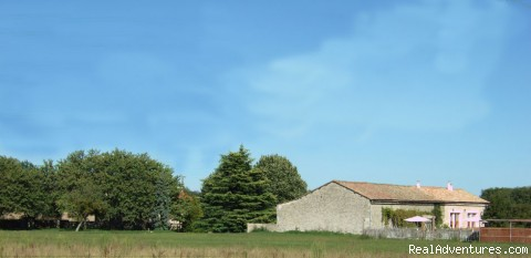 View to barn - Le Poirier beautiful 4 bed barn conversion