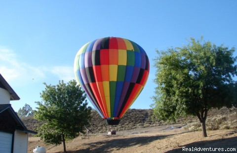 Southern California hot air balloon rides
