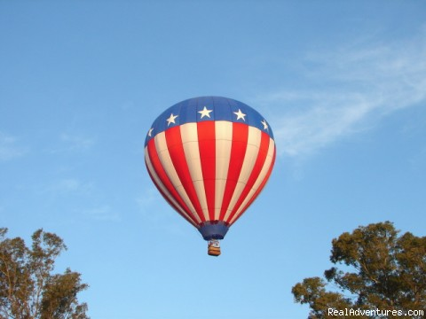 Freedom - Southern California hot air balloon rides