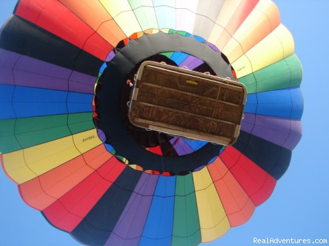 Flying high - Southern California hot air balloon rides