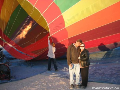 honeymooners - Southern California hot air balloon rides