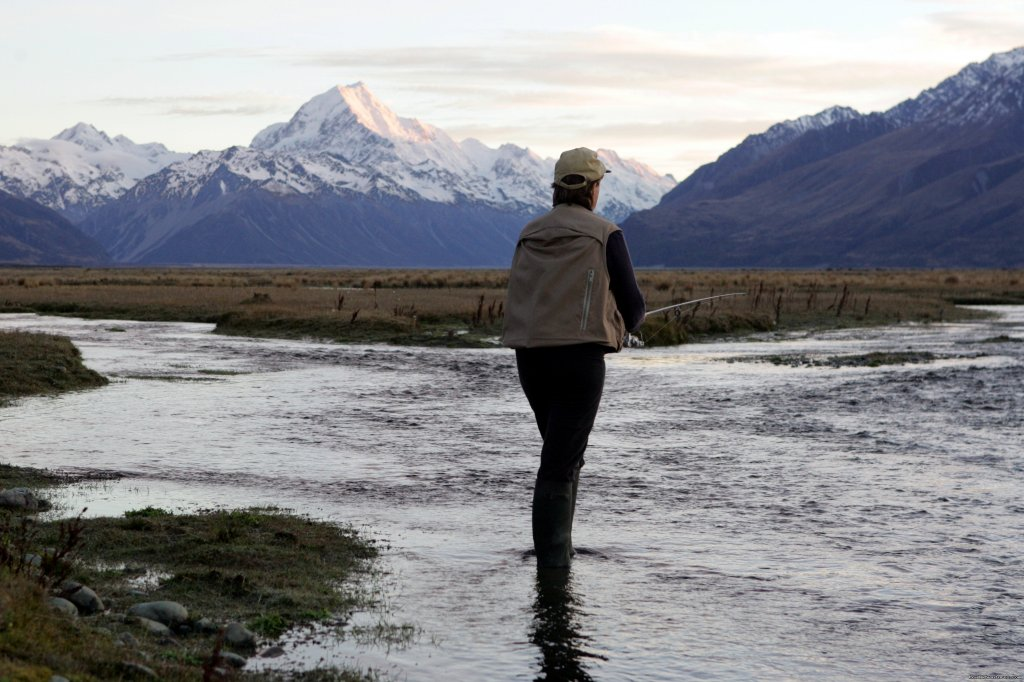 Lots of fishing, hunting and walking | Image #6/17 | Glentanner Park Centre Mount Cook New Zealand
