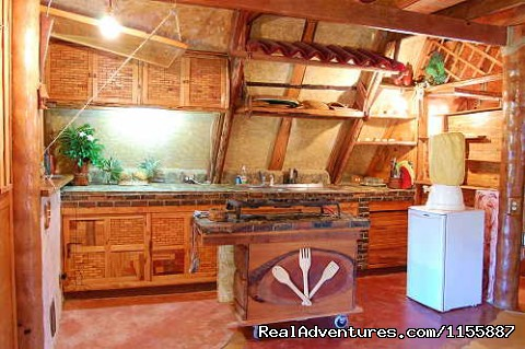 Chalet 1: kitchen - Chalet Tropical Village