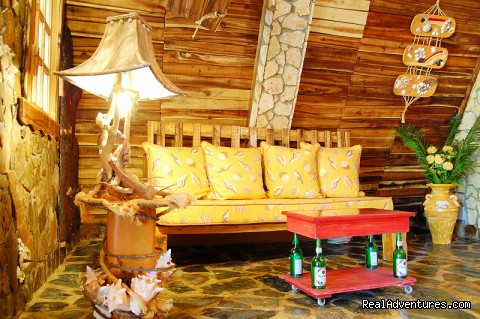 Chalet 2: sofa-bed - Chalet Tropical Village