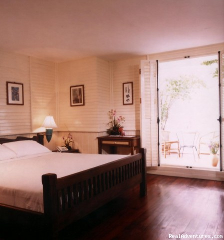 - Boutique style hotel on Khaosan Road, Bangkok.