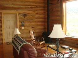 Living area - Romance & Adventure at the Montana Beartooth Cabin