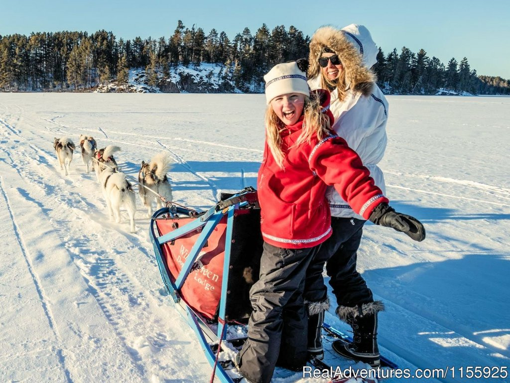 For 35 years, Wintergreen Dog Sledding Lodge has provided lodge-based dogsledding vacations and dogsled camping adventures with lovely our lakeshore lodging, top chef, friendly Canadian Inuit dogs, rated 'best in the business' by National Geographic.