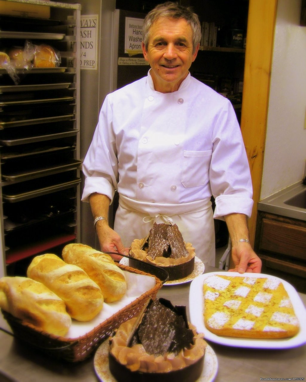 Our beloved French chef Bernard | Image #7/9 | Dog Sledding Vacations & Dog Mushing Tours