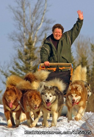 The Joy of Sledding! - Dog Sledding Vacations & Dog Mushing Tours