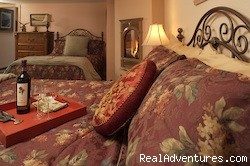 All the bedrooms have Fireplaces - Ketchikan's Finest Waterfront Vacation Rental B&B