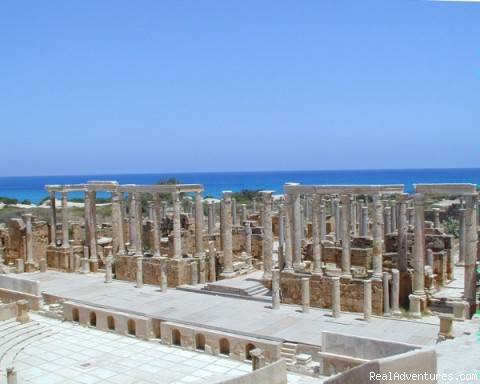 Tunisia And Libya Travel : Leptis Magna