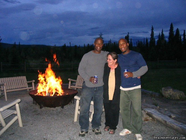 Fire Pit | Image #4/8 | Cheechako Cabins, your Rocky Mountain Getaway