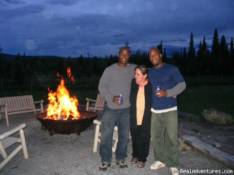 Fire Pit (#5 of 10) - Cheechako Cabins, your Rocky Mountain Getaway
