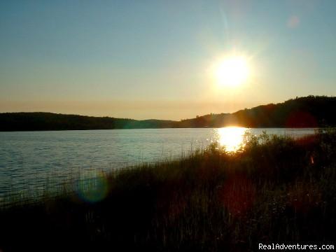 Sunset on Cedar Lake (#8 of 8) - Cedar Lake Lodge