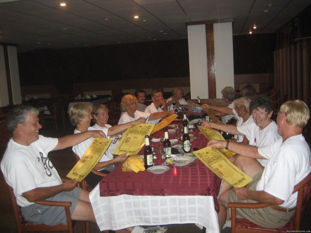 Farewell dinner | Image #4/4 | Golden Ring of Russia bicycle tour