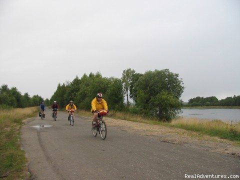 Along the Volga - Golden Ring of Russia bicycle tour