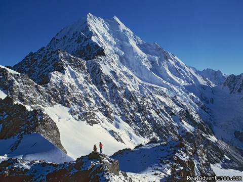 Aoraki Mount Cook viewed from above Ball Pass (#3 of 8) - Get high on some alpine hikes in New Zealand