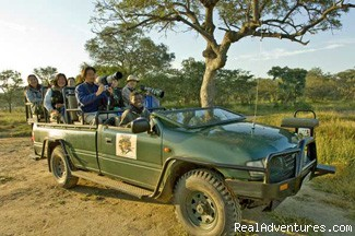 Guests in Safari Vehicle - Photo Safaris in South Africa for Photographers